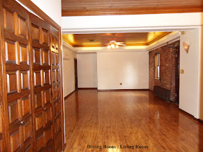 Photo: Dining room/ Living room