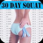 30 Day Squat Training Icon