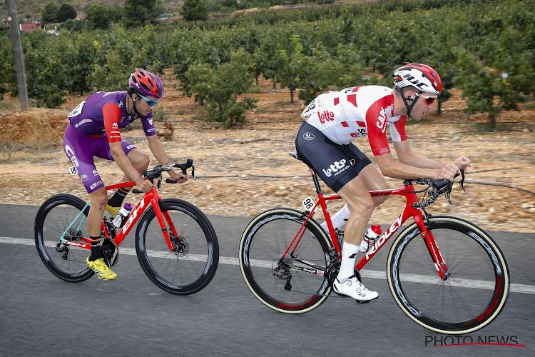 Vuelta : Jelle Wallays (Lotto Soudal) explique pourquoi il a tenté une échappée