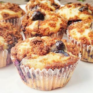 Vegan Blueberry Chia Muffins