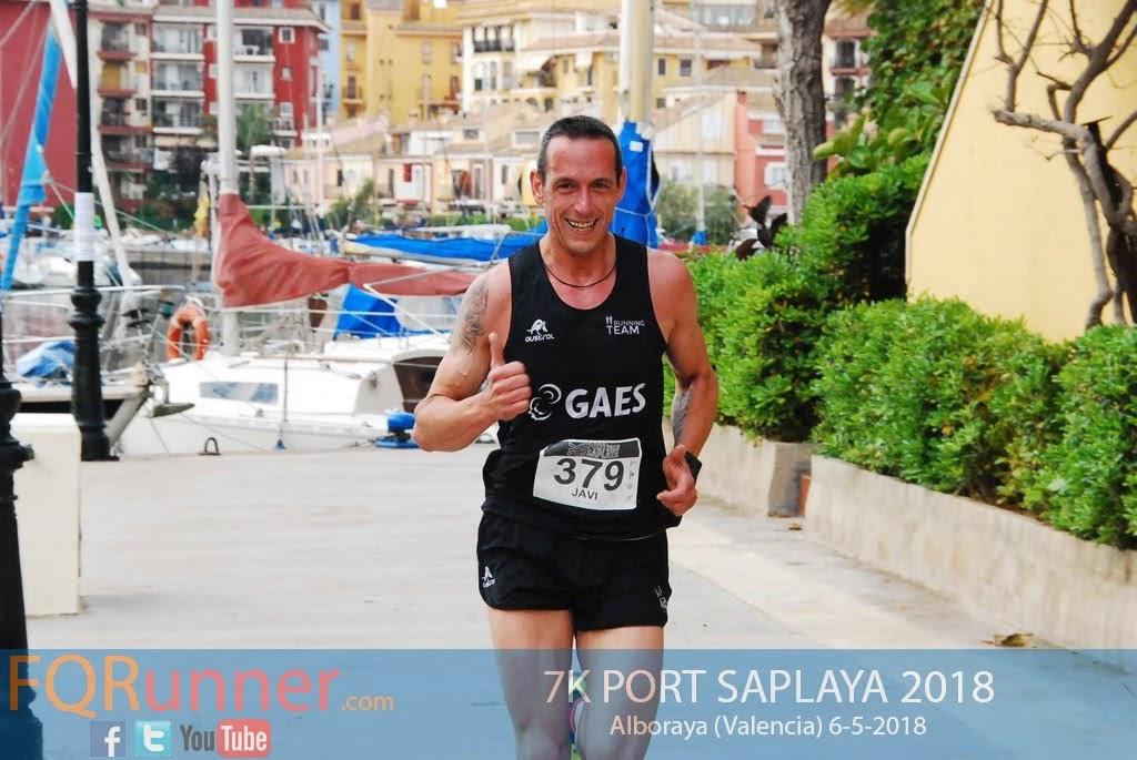 atleta del Gaes Runing Team JAVI TIERNO