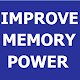 IMPROVE MEMORY POWER for PC-Windows 7,8,10 and Mac