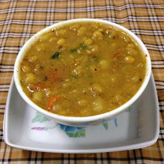 Yellow Peas Soup, Delicious Soup With Dried Yellow Peas Soup.