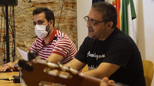 Rafael Jiménez presenta en la Alcazaba su poemario 'Sin nombre'