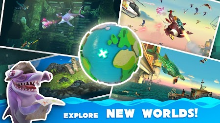 Hungry Shark World APK screenshot thumbnail 6