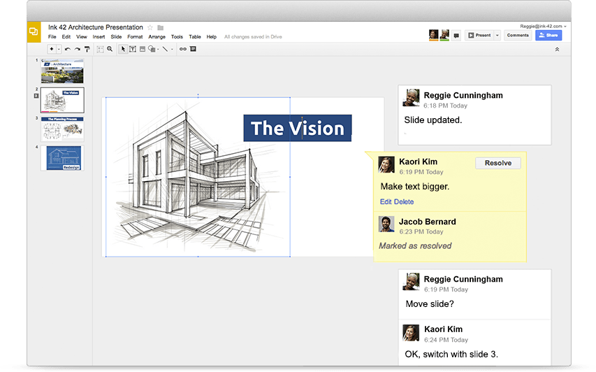 google slides online presentations for business g suite
