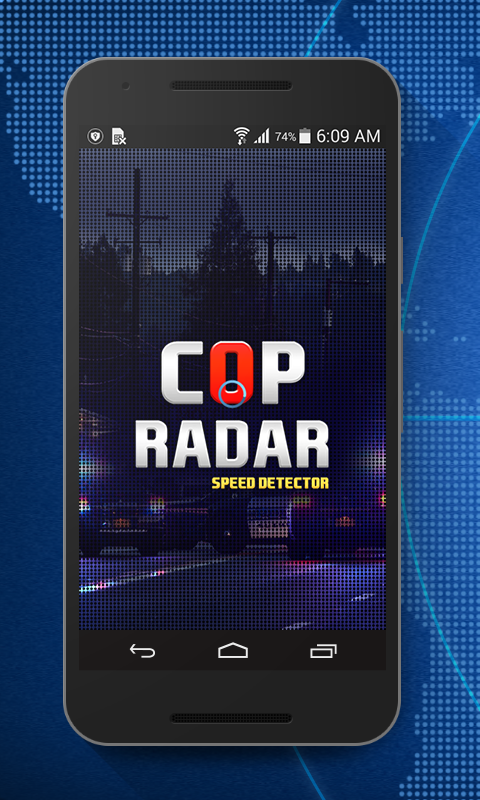 Cop Radar-Speed Detector- screenshot