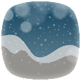 Christmas weather theme pack icon