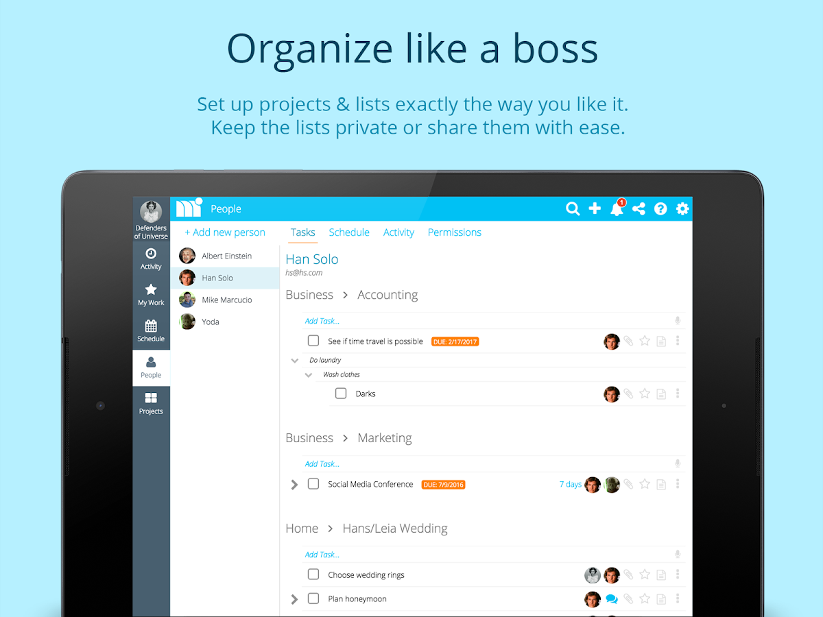 Manage It - Project Manager- screenshot
