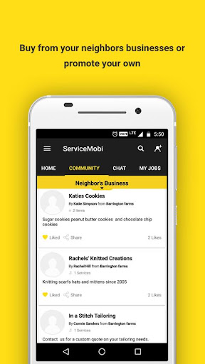 ServiceMobi for Homeowners Screenshot
