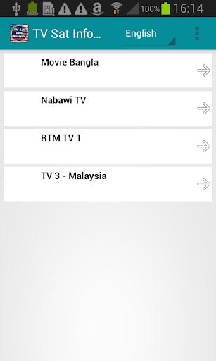 衛星電視信息馬來西亞