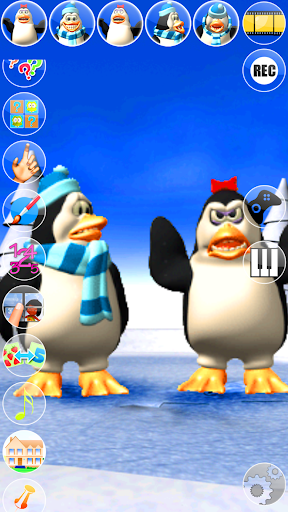 Talking Pengu and Penga Penguin  screenshot 5