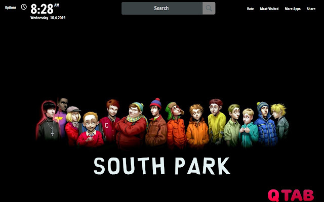 South Park New Tab South Park Wallpapers
