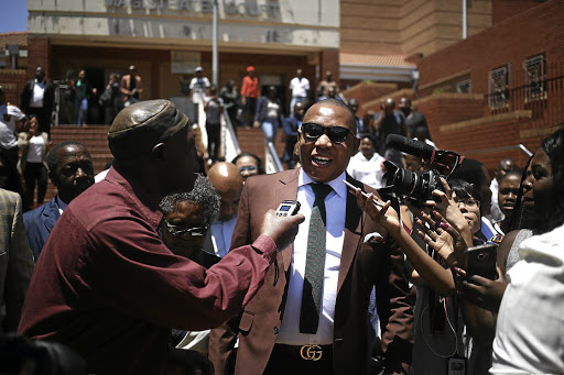 MP Mduduzi Manana was found guilty of assault in October.