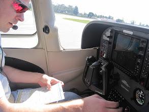 Photo: Pre-flight checklist