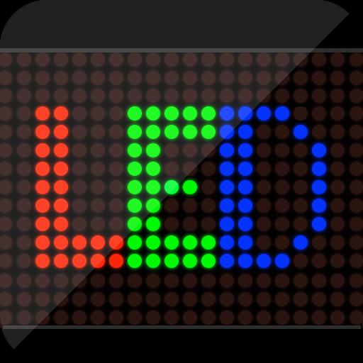 娱乐のLed Scrolling Display LOGO-記事Game
