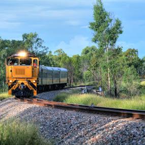 The Inlander - Queensland Australia by Peter Keast - Transportation Trains ( queensland, railway, australia, trains, , land, device, transportation )