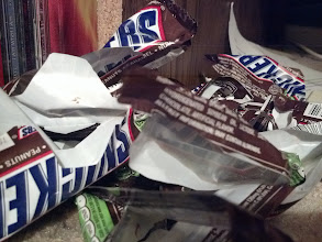 Photo: I've been eating Snickers...