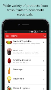 Hello Grocery - Online Grocery screenshot 0