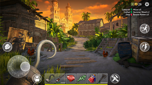 Last Pirate: Survival Island Adventure apkpoly screenshots 4