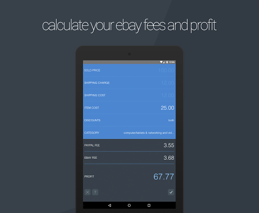 Downloads calculator software ebay fee