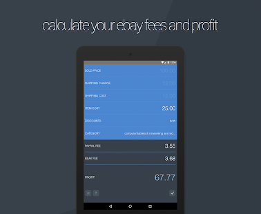 Final Fee Calculator- screenshot thumbnail