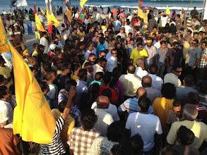Photo: Insaafuge dhathuru 18/02/2012. Photo/@sharaff