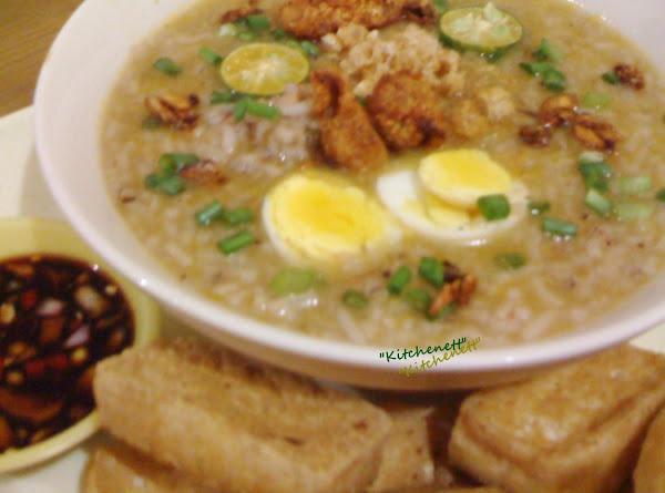 Chicken Arroz Caldo Recipe