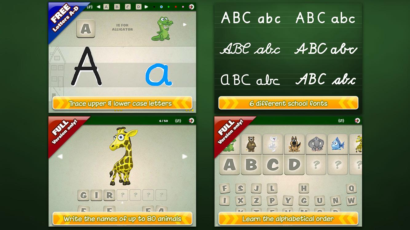 ABC Playground for Kids FREE- screenshot