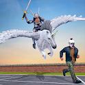 Multi Flying Horse Hero Crime City Battle icon