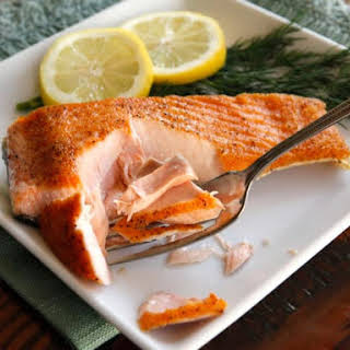 How to Sear Salmon Fillets.