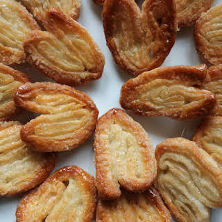 Barefoot Contessa's Palmiers (Elephant Ear) Cookies.