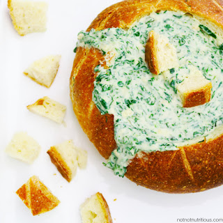 Spinach Dip [Dairy-free, vegan, plant-based].