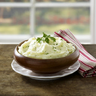 Mashed Potatoes and Cauliflower