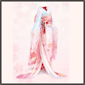 朧月夜の桜