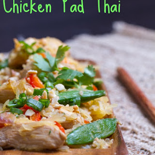 "Noodleless Chicken ""Pad"" Thai"