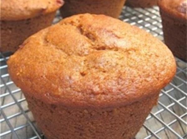 Whole`grain Vegan Cranberry~nut Muffins Recipe
