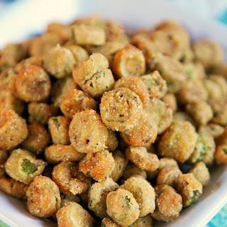 2-Ingredient Fried Okra