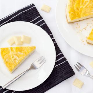 Mango & White Chocolate Cheesecake!