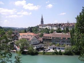 Photo: De Berner Münster is de gotische kathedraal van Bern.