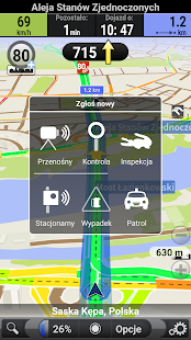AutoMapa: GPS navigation, radars, traffic, places - náhled
