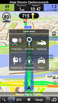 AutoMapa: GPS navigation, radars, traffic, places