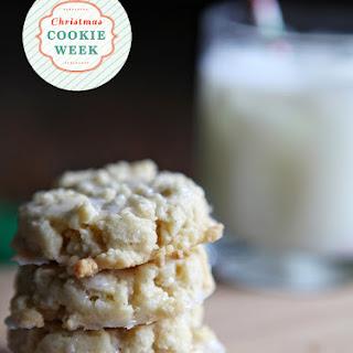 Vanilla Bean Shortbread Cookies with Vanilla Bean Glaze