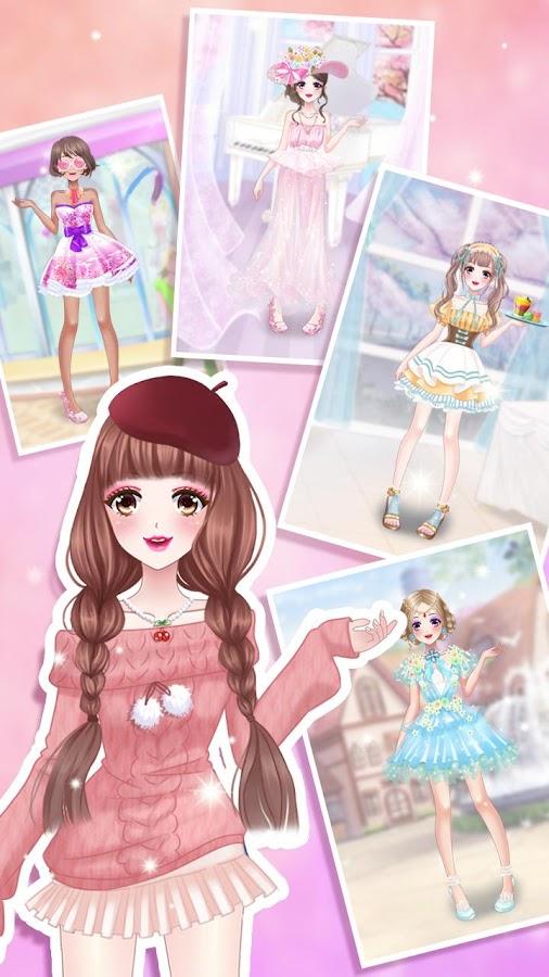 Anime Girl Dress Up Screenshot