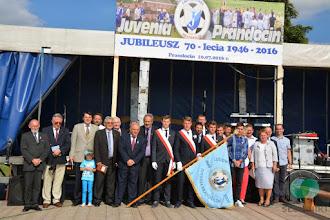 Photo: 70-lecie Klubu Sportowego LKS Juvenia Prandocin