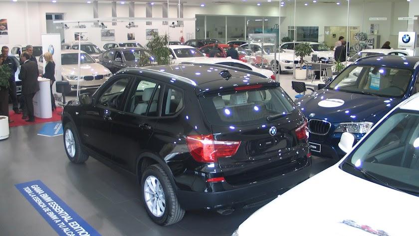 Un concesionario de vehículos de la provincia de Almería.