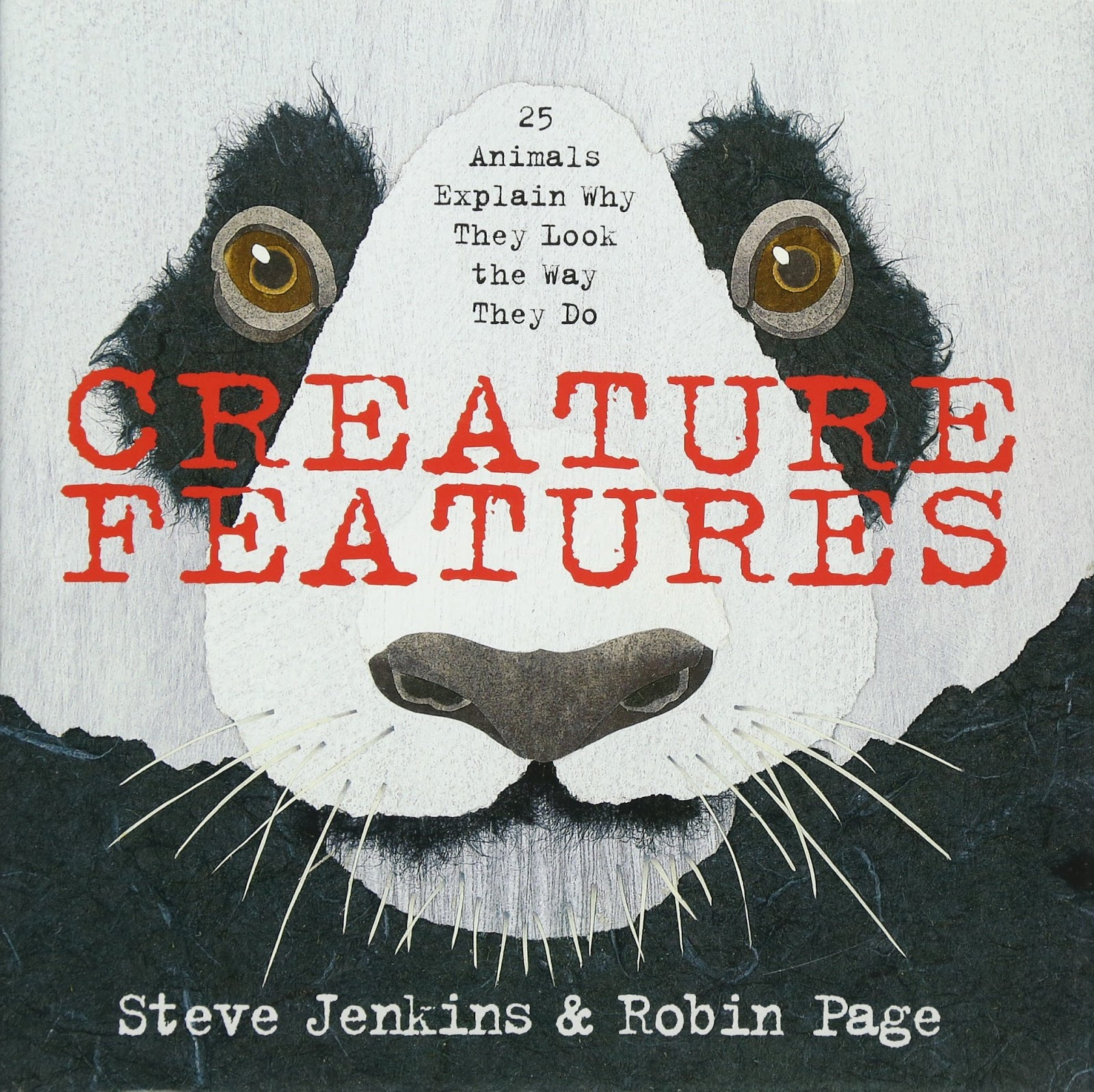 Creature Features: Twenty-Five Animals Explain Why They Look the Way They  Do: Jenkins, Steve, Page, Robin: 9780544233515: Amazon.com: Books