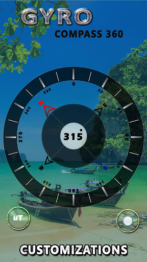 GPS Compass App for Android: True North Navigation  screenshots 4