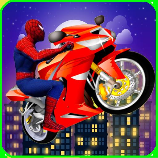 Amazing Spider Moto Bike Speed Race