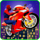 Amazing Spider Moto Bike Speed Race